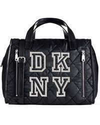 DKNY Collegiate Embroidery Satchel - Lyst