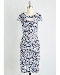 ModCloth | Dear Fiery Dress In Bloom | Lyst