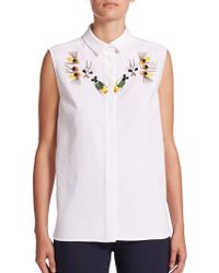 Stella McCartney | Laure Embellished Shirt | Lyst