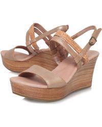 UGG - Lira Wedge Sandals - Lyst