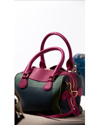 Burberry The Mini Bee in Handpainted Leather - Lyst