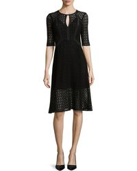 Nanette Lepore Drumbeat Crocheted Lace Dress - Lyst