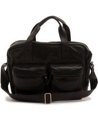 Veja Acacia Black Leather Bag - Lyst