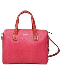 Olivia Harris Smith Satchel Pink pink - Lyst
