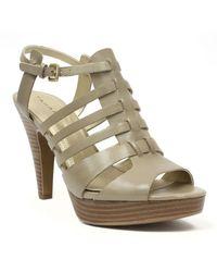 Tahari Tia High-Heel Platform Sandals - Lyst