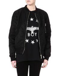 Boy London Reversible Jacket Black - Lyst