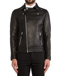 Won Hundred Ray Leather Jacket - Lyst