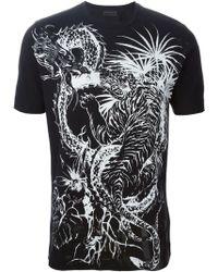 Diesel Black Gold Toriciy Royal Club Cotton T-Shirt - Lyst
