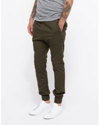 Zanerobe Dropshot Pant In Military green - Lyst