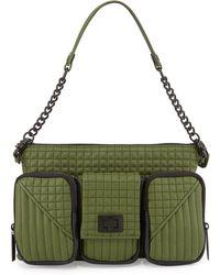L.A.M.B. Eden Leather Shoulder Bag - Lyst