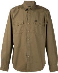Obey Plain Shirt - Lyst