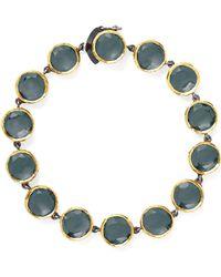 She Bee Gem - Youre So Fancy Bracelet in Grey - Lyst