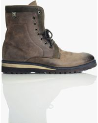 7 For All Mankind - Niko Boot In Brown - Lyst