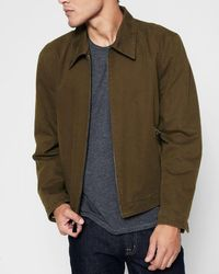 7 For All Mankind - Shop Jacket In Teak - Lyst