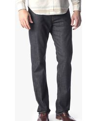 7 For All Mankind - Carsen Easy Straight In Dark And Clean - Lyst