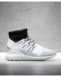adidas - Tubular Doom Primeknit Trainer - Lyst