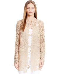 Ralph Lauren Lace Thora Coat - Lyst