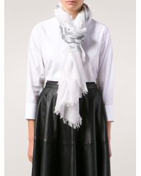 Each x Other - 'pareo' Robert Montgomery Collaboration Scarf - Lyst
