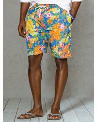 Polo Ralph Lauren Hawaiian 7 Floral Swim Boxer - Lyst