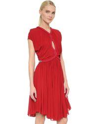 Jay Ahr - Twist Cap Sleeve Dress - Lyst