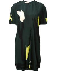 Marni Floral Print Dress - Lyst