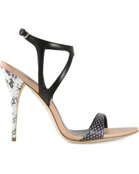 Narciso Rodriguez Strappy Sandals - Lyst