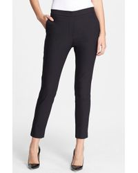 Theory 'Thaniel' Crop Pants - Lyst