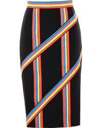 Peter Pilotto Striped Pencil Skirt - Lyst