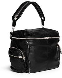 Alexander Wang 'Jane' Washed Lamb Leather Shoulder Bag - Lyst