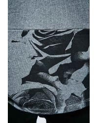 Worland - Kenny Rose Panel Sweatshirt In Grey - Lyst