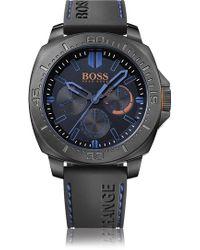 BOSS Orange - '1513242' | Chronograph Silicone Strap 3-hand Quartz Watch - Lyst