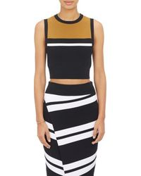 A.L.C. Cropped Cory Top - Lyst