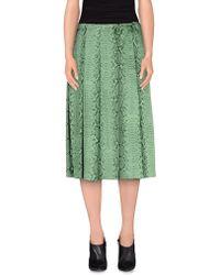 Chloé   3/4 Length Skirt   Lyst