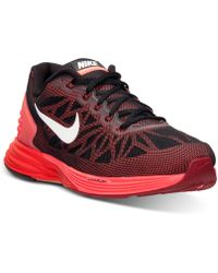 Nike Men'S Lunarglide 6 Running Sneakers From Finish Line - Lyst