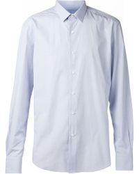 Lanvin Blue Classic Shirt - Lyst