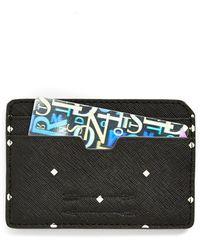 Ben Minkoff - 'nikko' Leather Card Case - Lyst