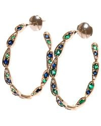 Sabine G - Diamond, Sapphire, Emerald & Gold Earrings - Lyst