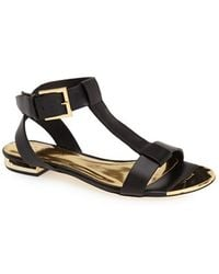 Ted Baker 'Psaphire' Leather Sandal - Lyst