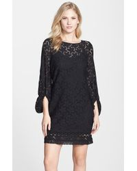 Laundry by Shelli Segal Stretch Lace Shift Dress - Lyst