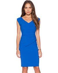 Diane von Furstenberg Blue Bevin Dress - Lyst
