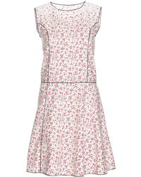 Marc Jacobs Floral Cotton Dress - Lyst