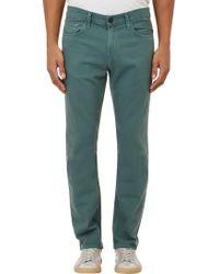 J Brand Kane Jeans - Green - Lyst