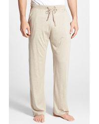 Daniel Buchler Men'S Silk & Cotton Lounge Pants - Lyst