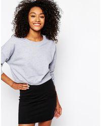 American Apparel Boxy Sweatshirt - Lyst
