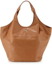 Tory Burch Slouchy Leather Hobo Bag - Lyst