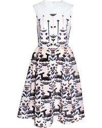 Honor Jewel Neck Dress - Lyst