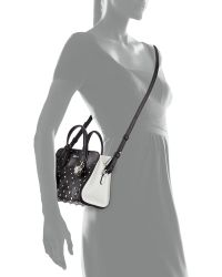 Alexander McQueen Mini Studded Padlock Zip-around Tote Bag - Lyst