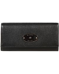 Mulberry Wallet Continental Glossy Goat - Lyst