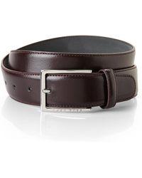 Hugo Boss Adjustable Leather Belt - Lyst