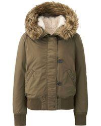 Uniqlo Women Military Hooded Jacket - Lyst